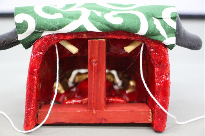 獅子頭(小)お正月飾り日本のお土産品