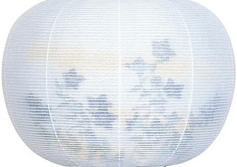 回転たちかぜ2472【P・回転行灯】【紙張二重】【桔梗】【プラスチック】