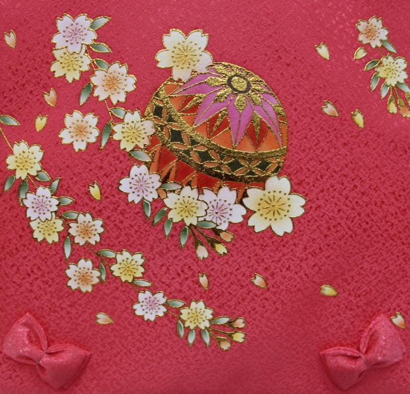 パステルカラー名前旗(小)ピンク【雛人形】