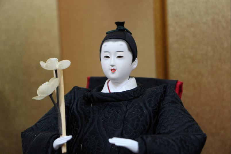 後藤由香子作あかり創作雛人形平飾り【雛人形親王飾り】