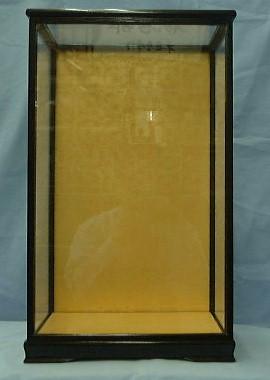 黒12号巾広ガラスケース(黒塗り前戸)