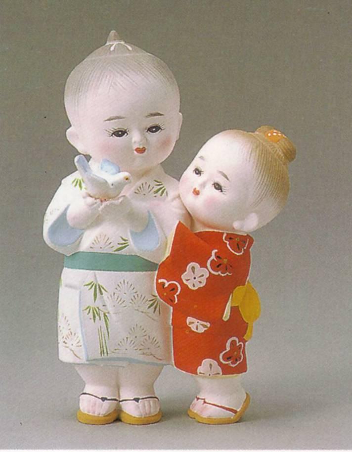平和【博多人形】