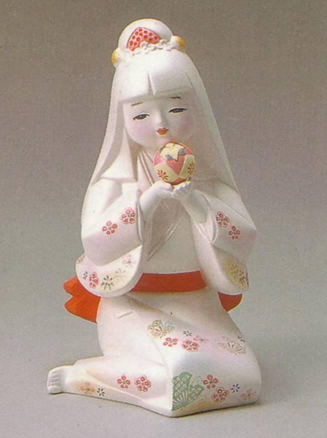 平安まり【博多人形】