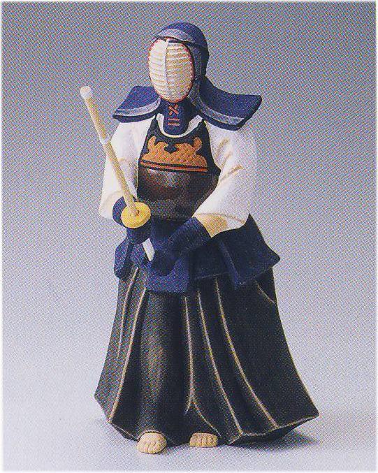 剣道(中)【博多人形】