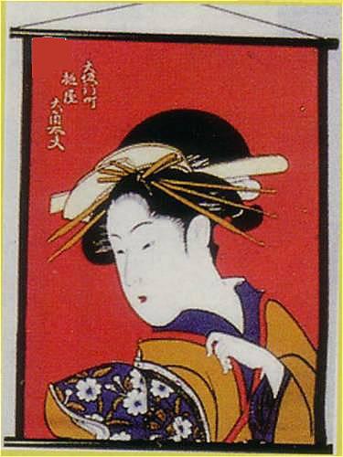 大角赤タペストリー(中)NO.12