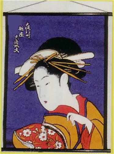大角紫タペストリー(中)NO.13