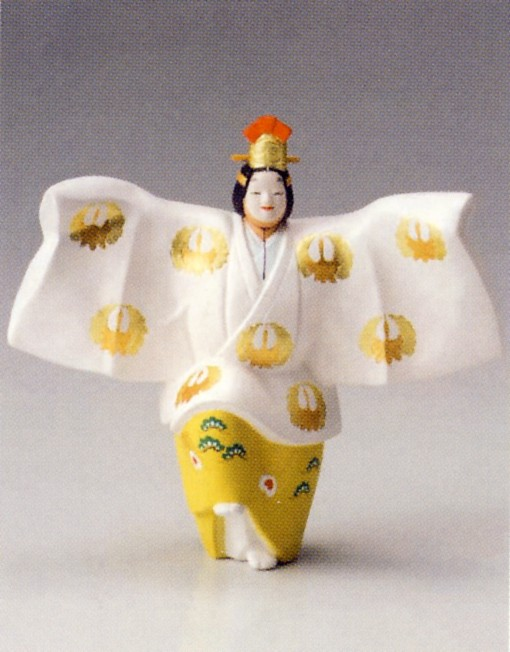 鶴【博多人形】