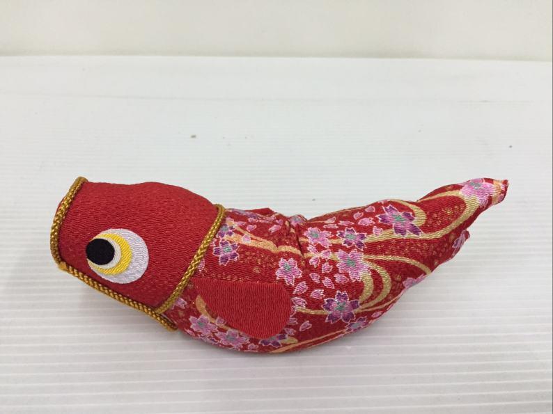 ちりめんのぼり鯉(大)赤