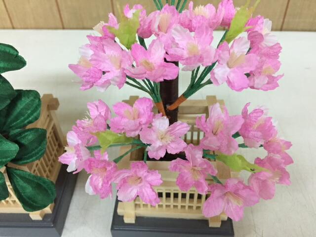桜橘葵雛飾り付属桜橘訳あり特価