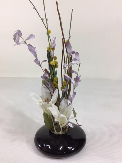 フラワーオブジェR-9ゆり雛飾り付属桜橘訳あり特価