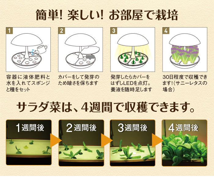 水耕栽培キットOMA01