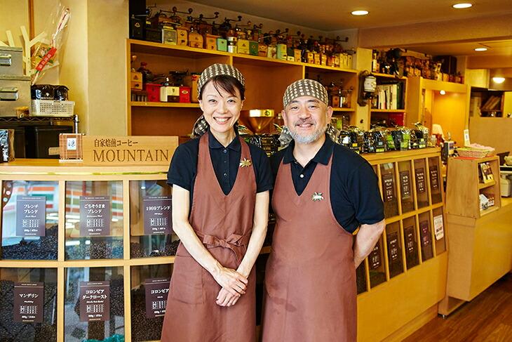 大阪府高槻市にて1999年創業の本格自家焙煎コーヒー販売のお店です