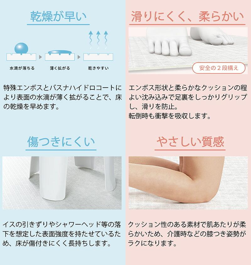 浴室床用シート 効果