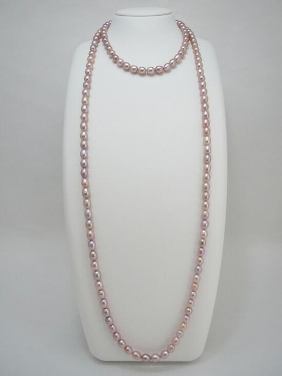 真珠,パール,ネックレス,淡水