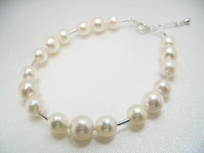 アコヤ真珠ブレスレット
