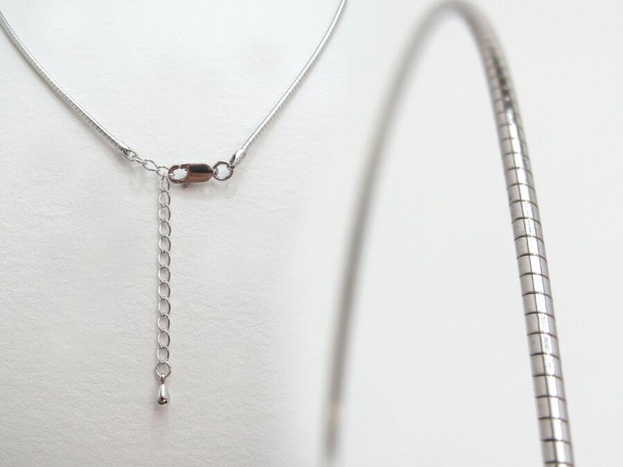 シルバー製オメガネックレス