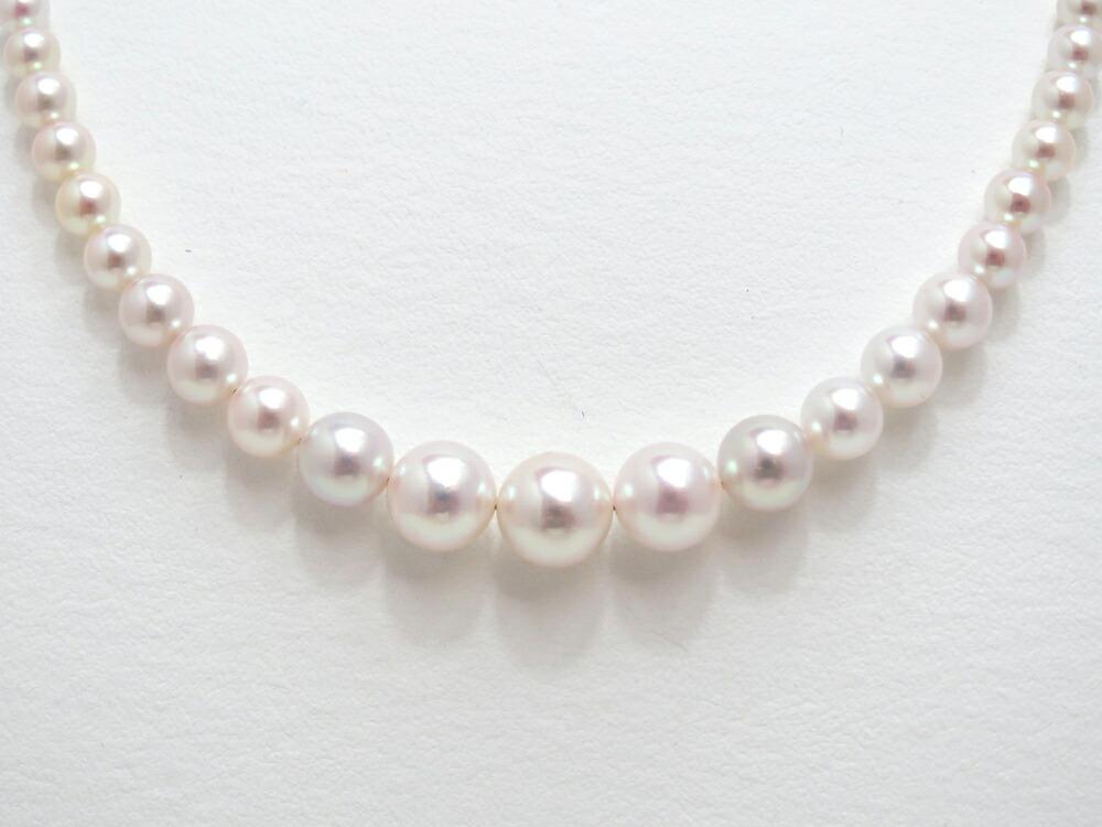 テリが良く、キズも少ないアコヤ真珠を使用