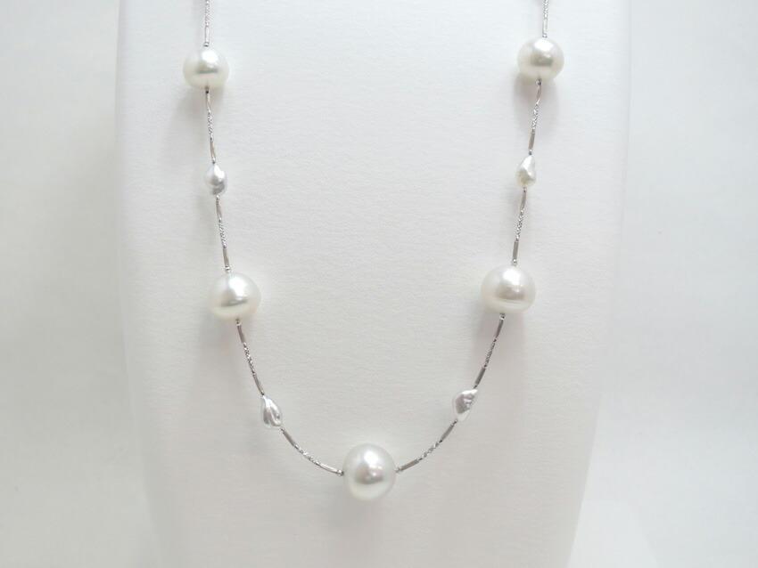 白蝶真珠を引き立てる
