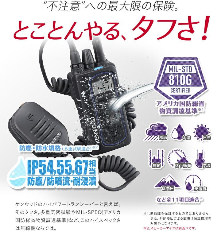 ケンウッド デジタルハイパワートランシーバー ハイパーデミトス TPZ-D510 |