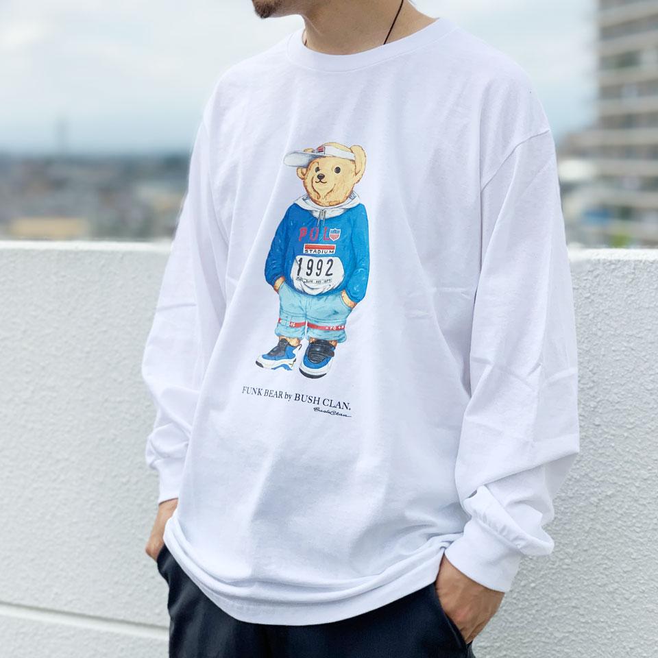 BUSHCLANのTシャツ