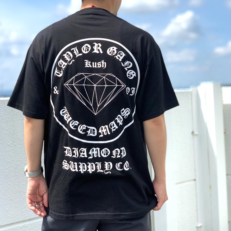 DIAMOND×TAYLORGANG×WEEDMAPSコラボ