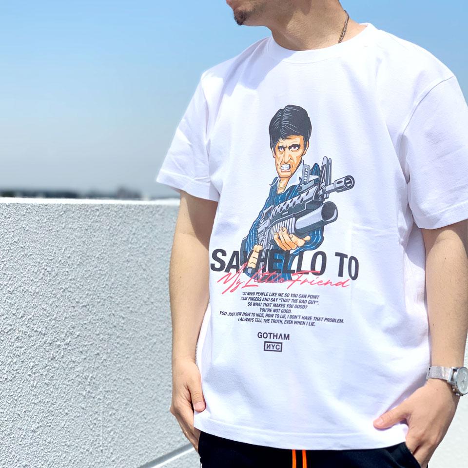 GOTHAMのTシャツ