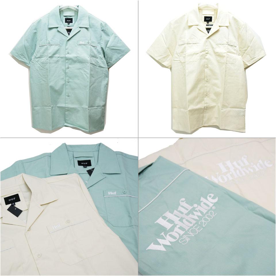 スケートブランドHUF(ハフ)のシャツ