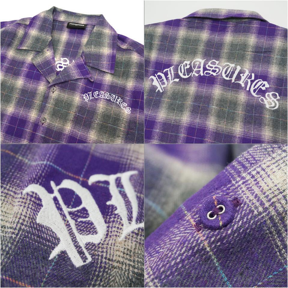 PLEASURESの半袖シャツ