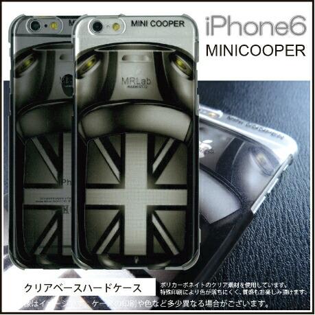 iPhone6/6sケースミニクーパー