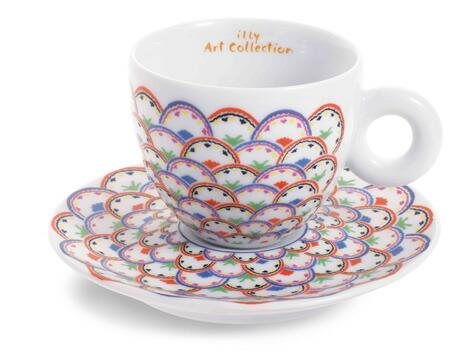 GILLO DORFLES [ジッロ・ドロフレス] カプチーノカップセット / illy collection[イリーコレクション]