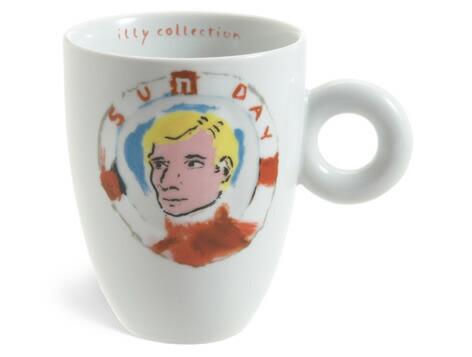 Julian Schnabel マグカップ / illy collection[イリーコレクション]