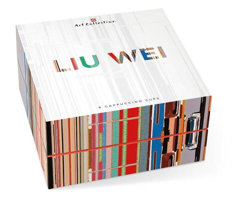 LIU WEI [リウ・ウェイ] カプチーノカップセット / illy collection[イリーコレクション]