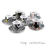 2010 illy collection Tobias Rehberger エスプレッソカップセット