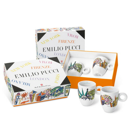 2017 illy collection EMILIO PUCCI マグカップセット
