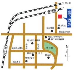 宮下酒造 地図