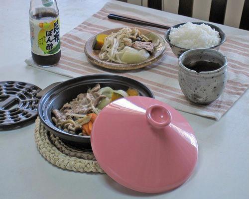 万古焼のタジン鍋