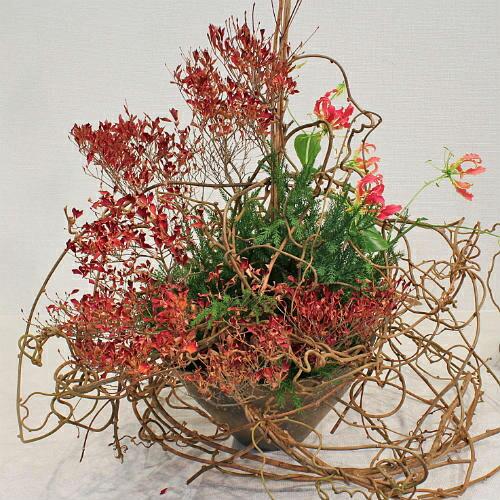 信楽焼生け花用花器