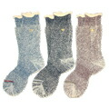 GOHEMP LOW GAUGE PILE CREW SOCKS