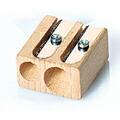 リラ ブナ材 ツインホールシャープナー 鉛筆削り