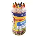 リラ ファルビー 軸白木18色PPボックスセット 色鉛筆
