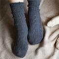 靴下 オーガニックコットンでつくった リンクス柄ソックス