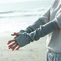 アームカバー オーガニックコットン 天衣無縫 夏のさらっとアームカバー UVケア