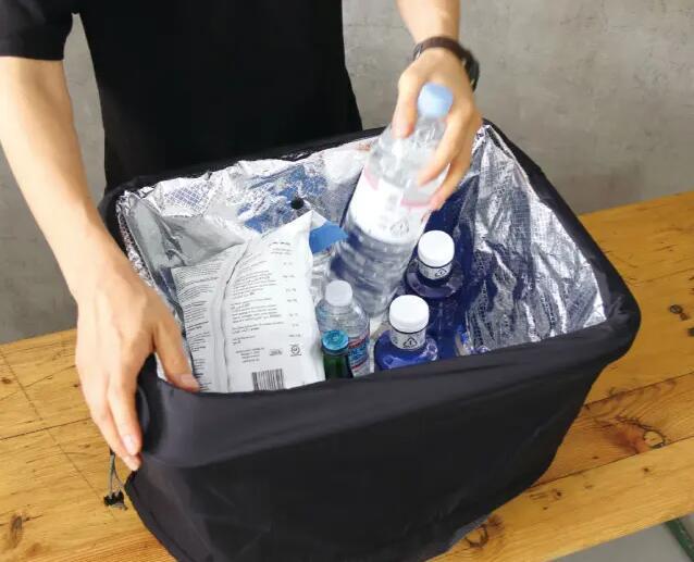 ポストジェネラル POST GENERALPACKABLE PARACHUTE NYRON SHOPPING COOLER BAG パッカブルパラシュートナイロンショッピングクーラーバッグ