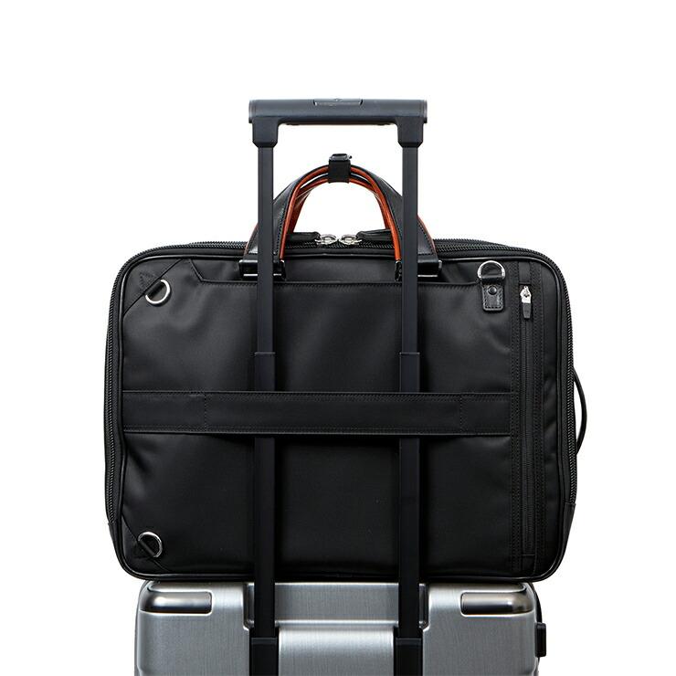 スーツケースにセットアップ可能