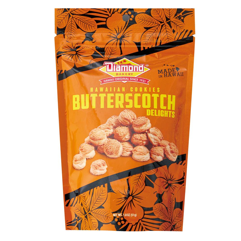 ダイアモンドベーカリー ハワイアンクッキー バタースコッチ 51g