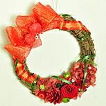 【リース・ハートクリスタル】プリザーブドフラワーのお店ムニュムニュ【Flower Munyu Munyu】