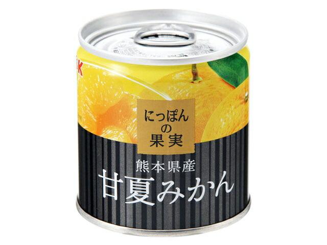 K&K にっぽんの果実 熊本県産 でこぽん 185g缶
