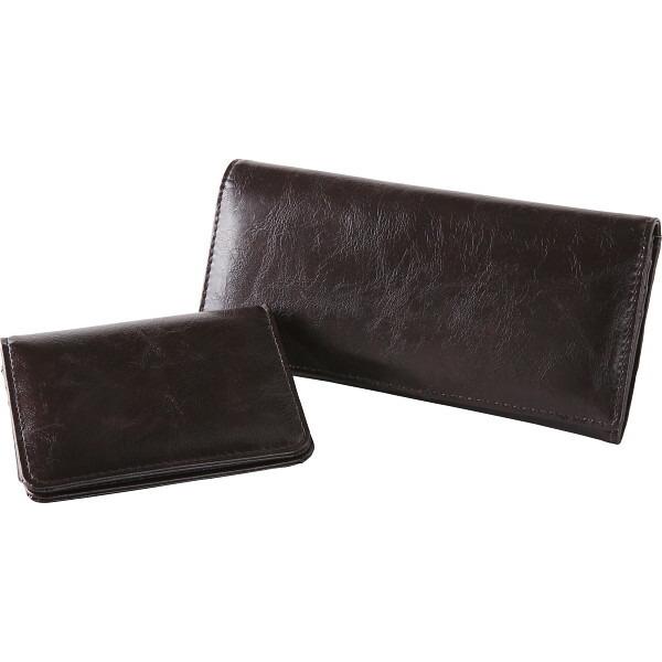 9db795d7cb6f イルムスパスケース・長財布セット ブラウン SET-ILM1520BRN 商品情報