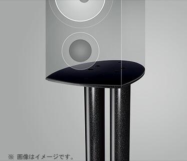 NORSTONE ブラック/ オーディオラック BLK [ESSEBBLK] ESSE-B / 【送料無料】 ブラック