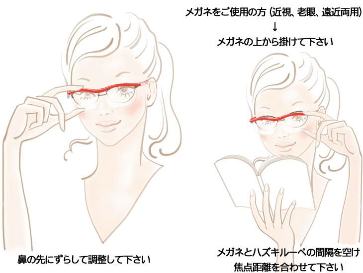 メガネをご使用の方(近視・老眼・遠近両用)